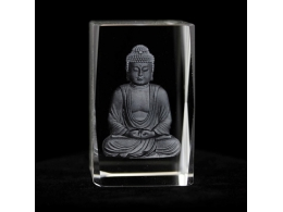 Feng Shui - Buddha klaastahukas - SUUR ALLAHINDLUS